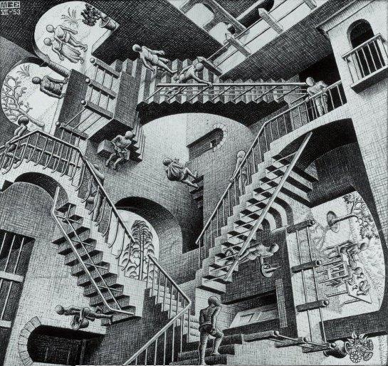 M. C. Escher - Die unendliche Treppe
