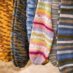 Detail of handmade Wool Socks